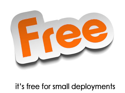 Freeware for small deployments